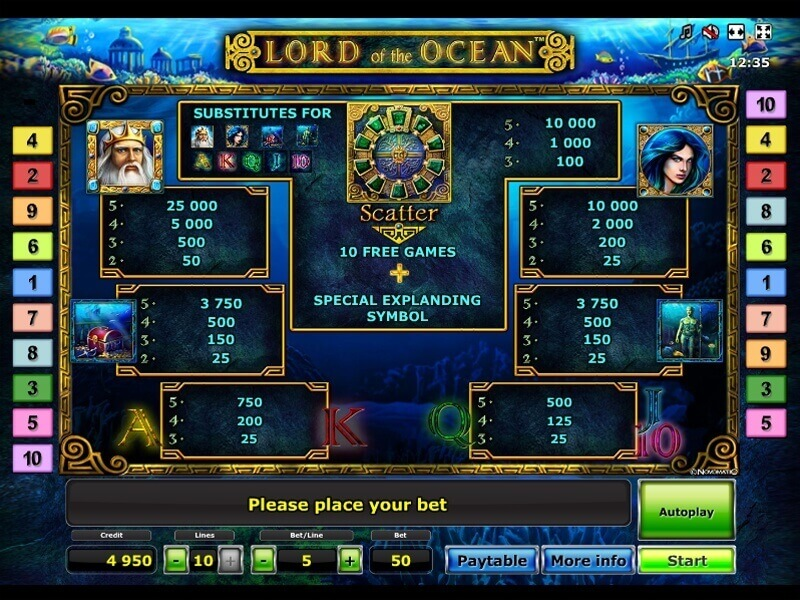 casino online mobile lord of the ocean kostenlos